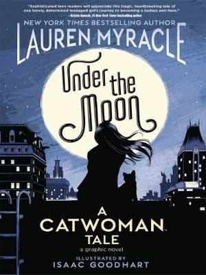 catwoman bajo la luna