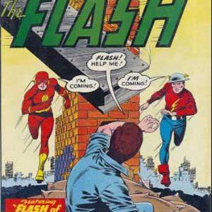 Flash de dos mundos de Gardner Fox y John Brome