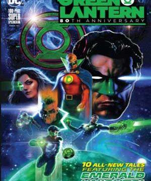 80 aniversario green lantern