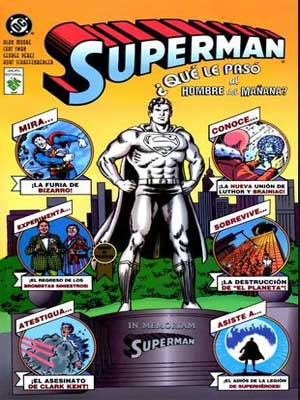 Read more about the article Superman ¿Qué le pasó al hombre del mañana?