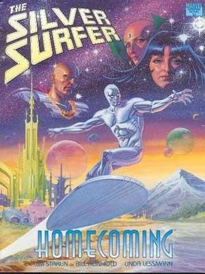 silver surfer regreso al hogar