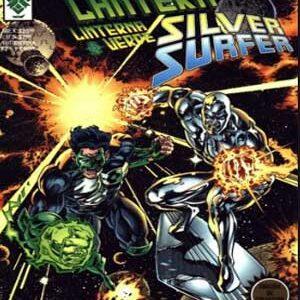 Green Lantern y Silver Surfer [crossover DC y Marvel]