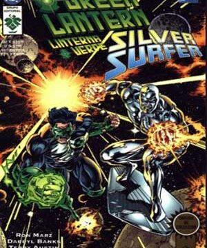 green lantern y silver surfer