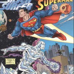 Silver Surfer y Superman [crossover Marvel y DC]