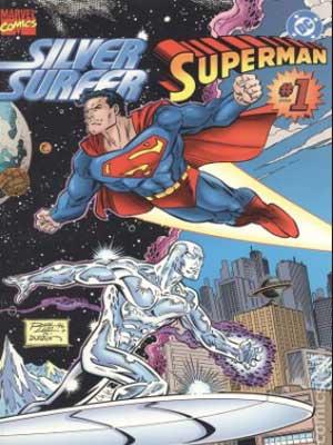 superman y silver surfer