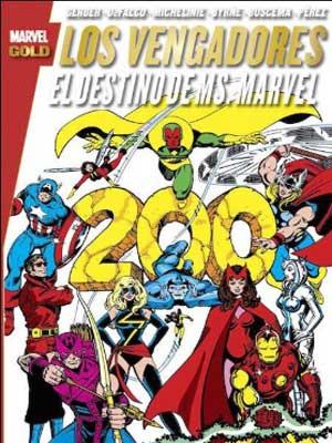 Los Vengadores: El destino de Ms. Marvel [Marvel Gold]