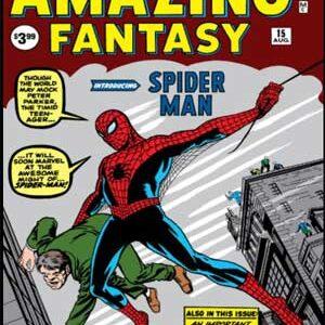 Amazing Fantasy #15 [Primera aparición de Spiderman]