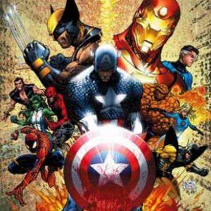 Civil War I y II [Saga principal + tie-ins] [Eventos Marvel]