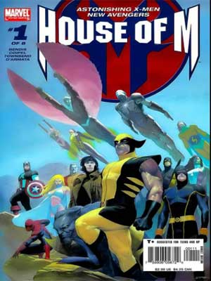 Read more about the article House of M (Casa de M) [8 de 8 + tie-ins] [Evento Marvel]