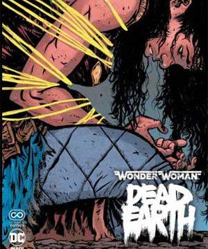 wonder woman death earth
