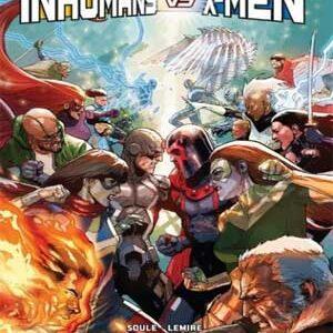 Inhumanos vs X-Men [Completo] [MEGA] [12 de 12]