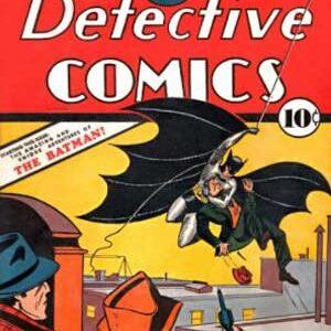 Detectives Comics #27 (1939) + Caso del Sindicato Químico (1991) + Leyenda de Batman (1939)