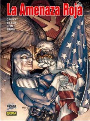 Capitán América la Amenaza Roja