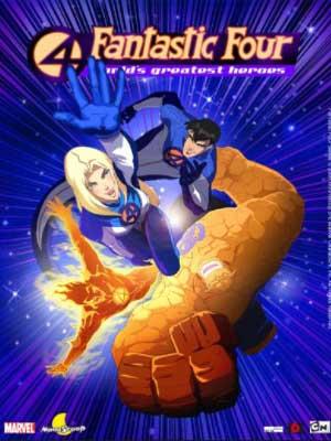 Los Cuatro Fantásticos: Los Héroes más Grandes del Mundo