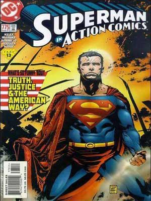 Read more about the article Superman: ¿Qué Tiene de Divertido la Verdad, la Justicia y el Estilo de Vida Americano? [Action comics #775]