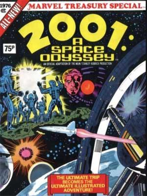 Read more about the article 2001 Odisea del espacio de Jack Kirby [Cómic de la película]
